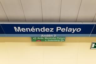 metro M y P salida Gutenberg